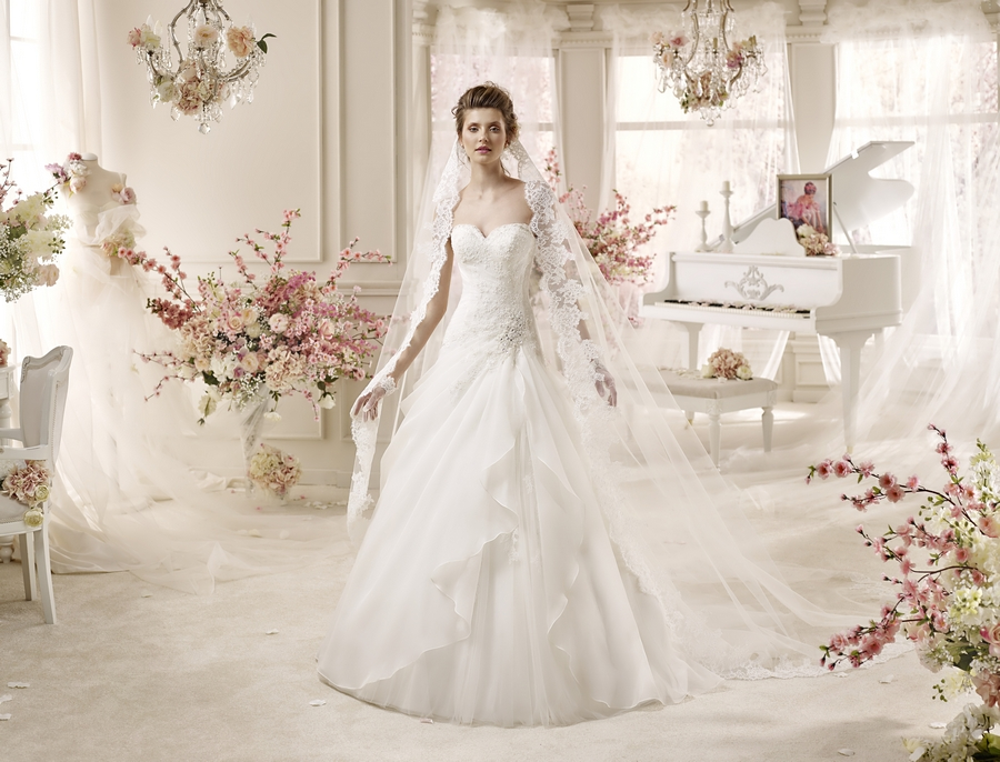 Colet 16233 abiti da sposa il giardino della sposa - Il giardino della sposa ...