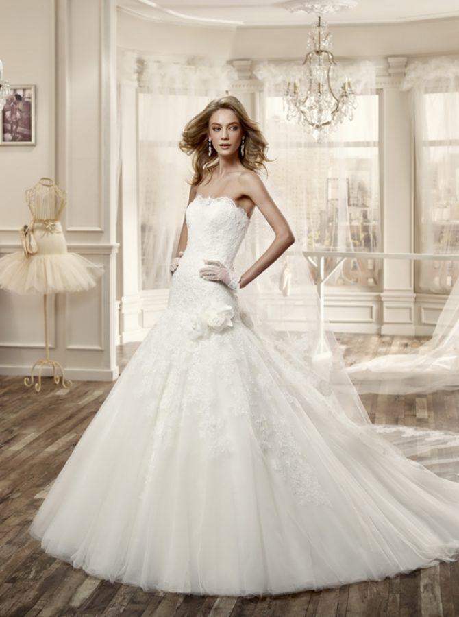 Nicole 16062 abiti da sposa il giardino della sposa - Il giardino della sposa ...