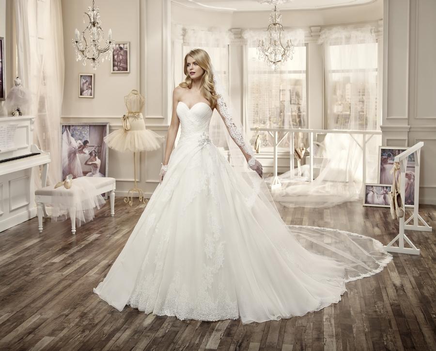 Nicole 16067 abiti da sposa il giardino della sposa - Il giardino della sposa ...