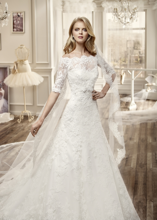Nicole 16072 abiti da sposa il giardino della sposa - Il giardino della sposa ...