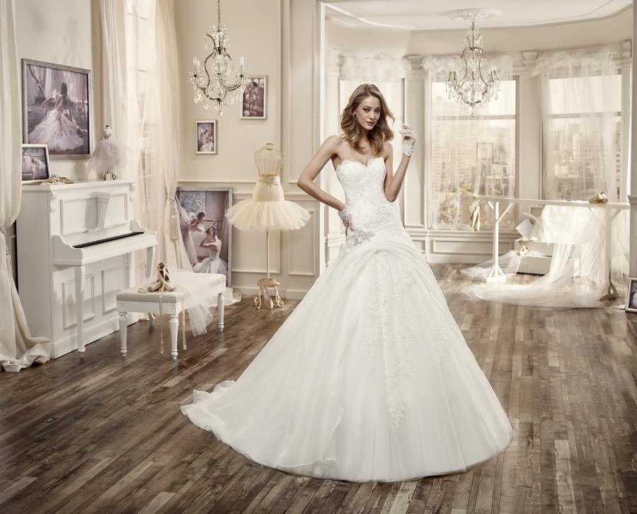 Nicole 16074 abiti da sposa il giardino della sposa - Il giardino della sposa ...