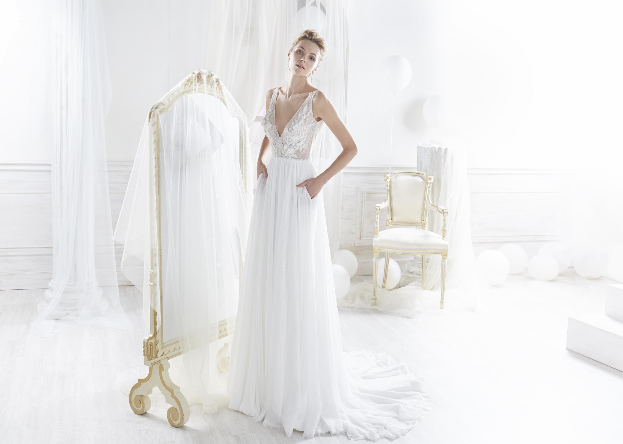 Nicole 18020 abiti da sposa il giardino della sposa - Il giardino della sposa ...