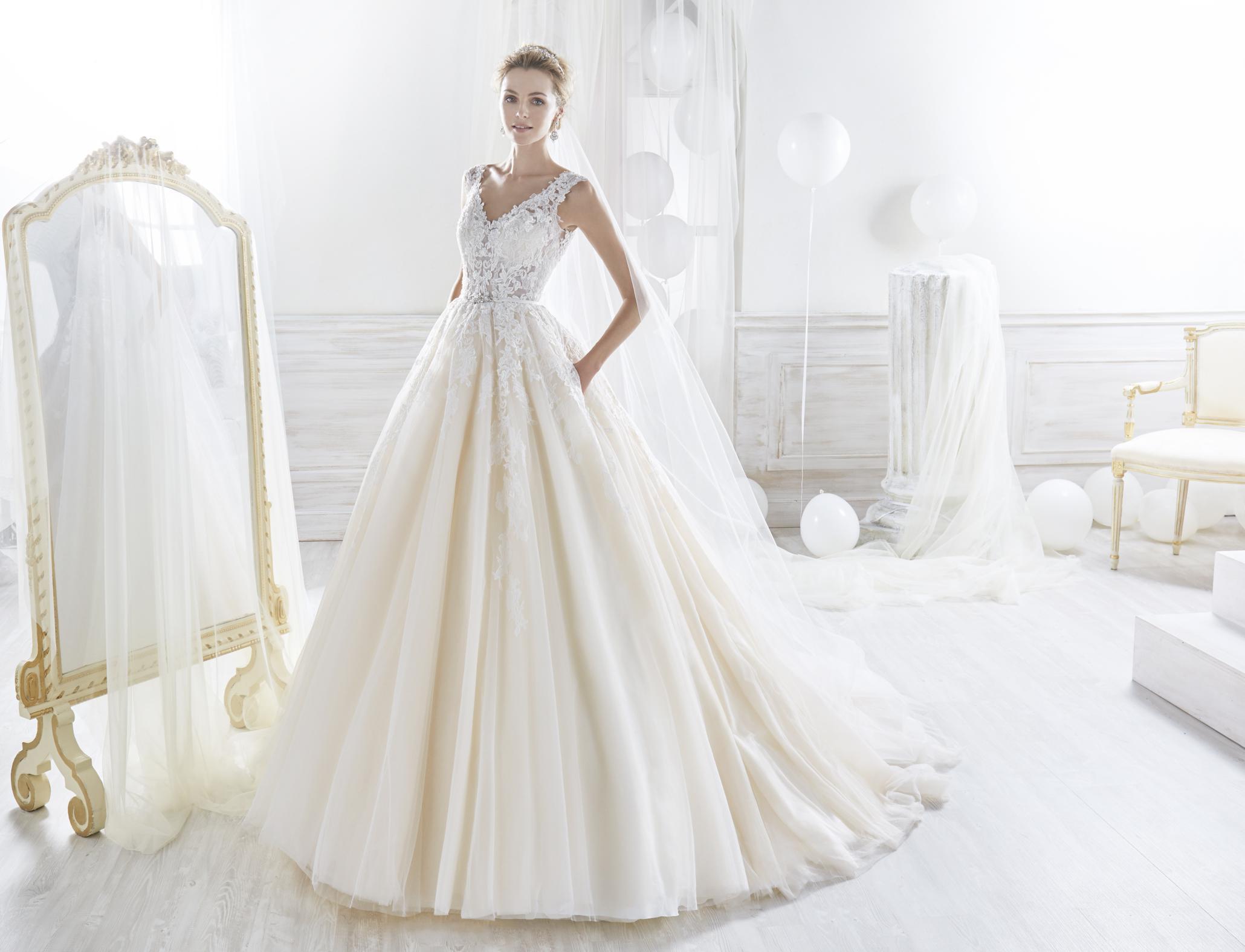 Nicole 18070 abiti da sposa il giardino della sposa - Il giardino della sposa ...