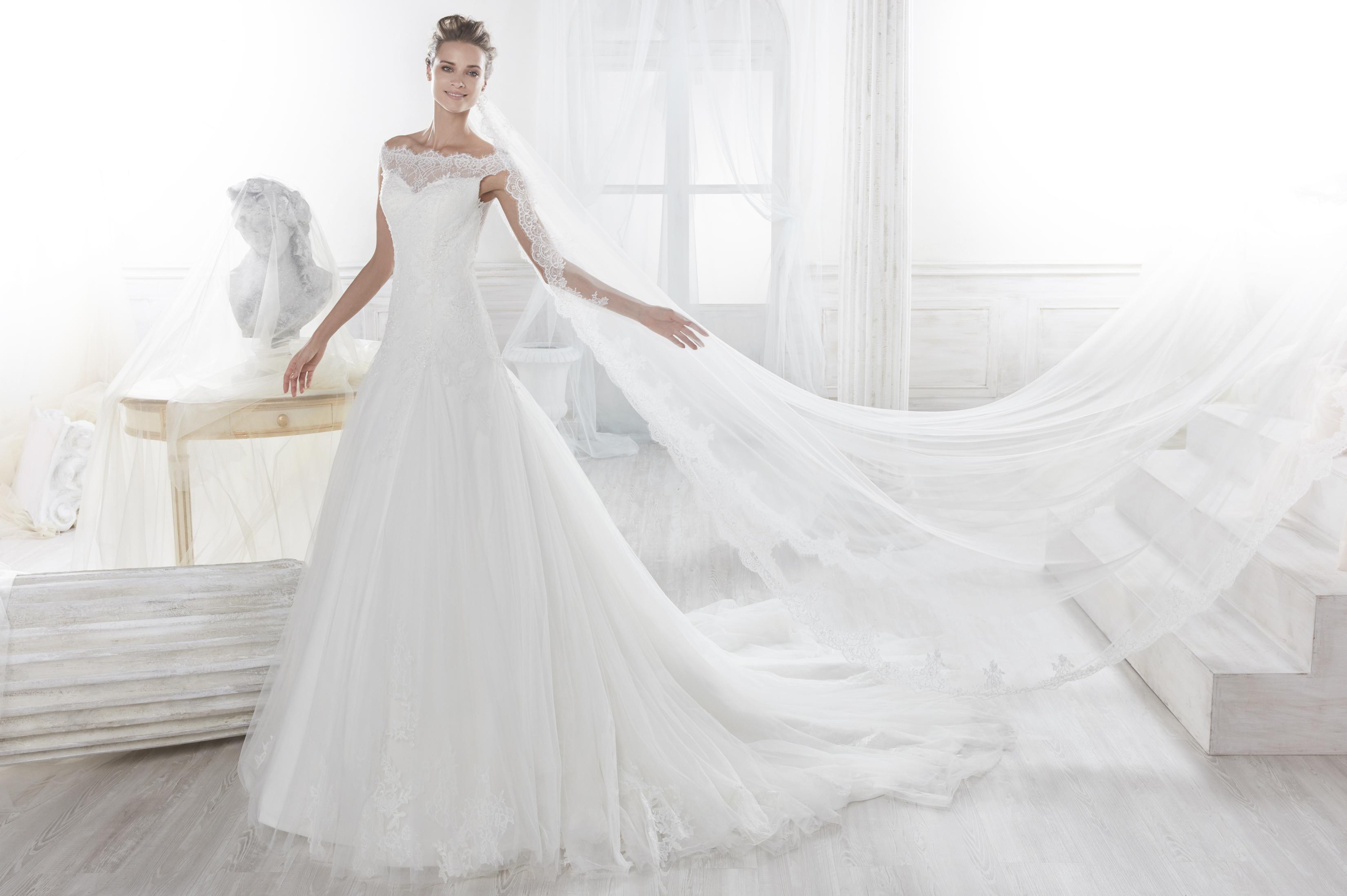 Nicole 18082 abiti da sposa il giardino della sposa - Il giardino della sposa ...