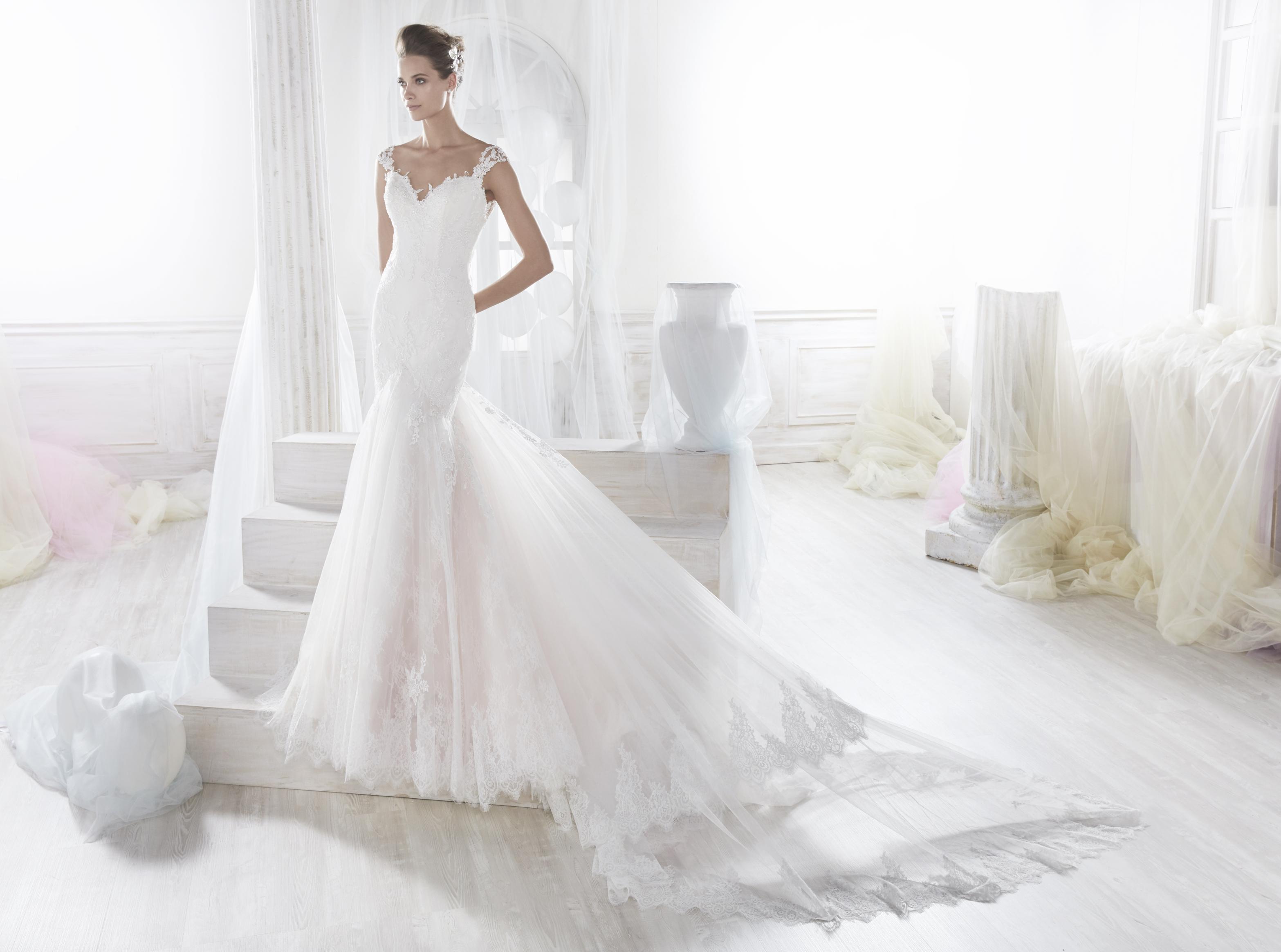 Nicole 18096 abiti da sposa il giardino della sposa - Il giardino della sposa ...