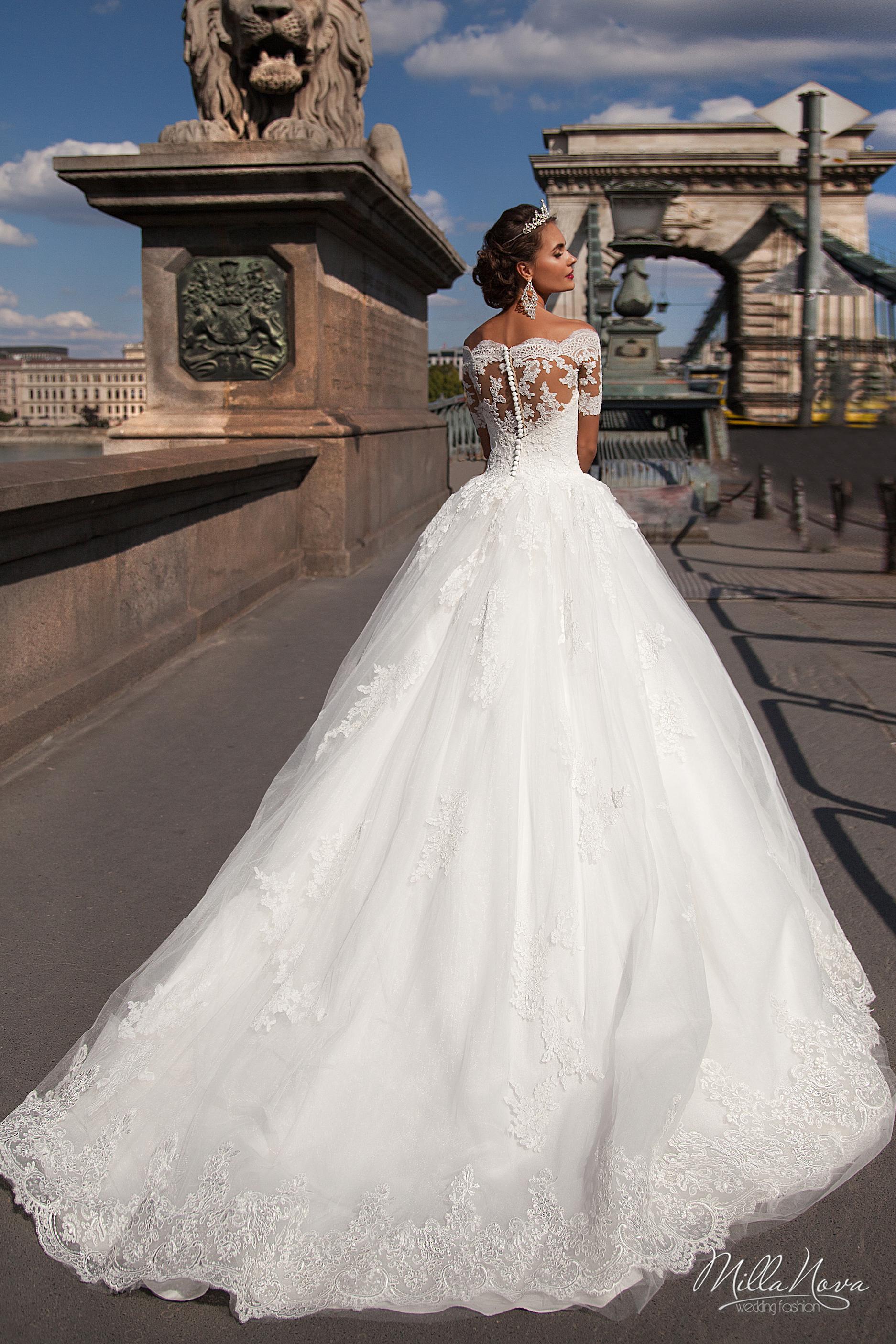 Millanova francheska abiti da sposa il giardino della sposa - Il giardino della sposa ...