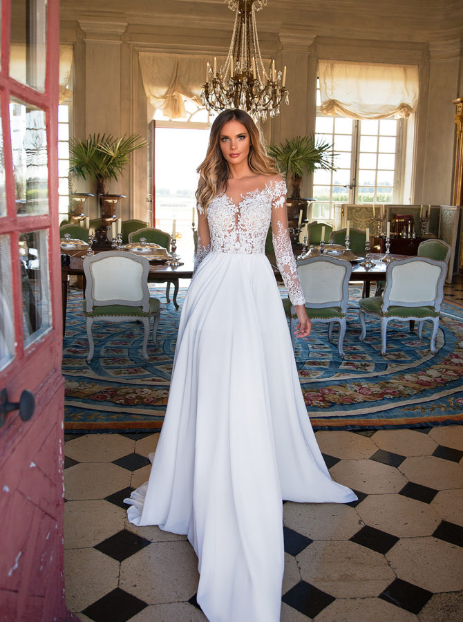 Milla nova violet abiti da sposa il giardino della sposa - Il giardino della sposa ...