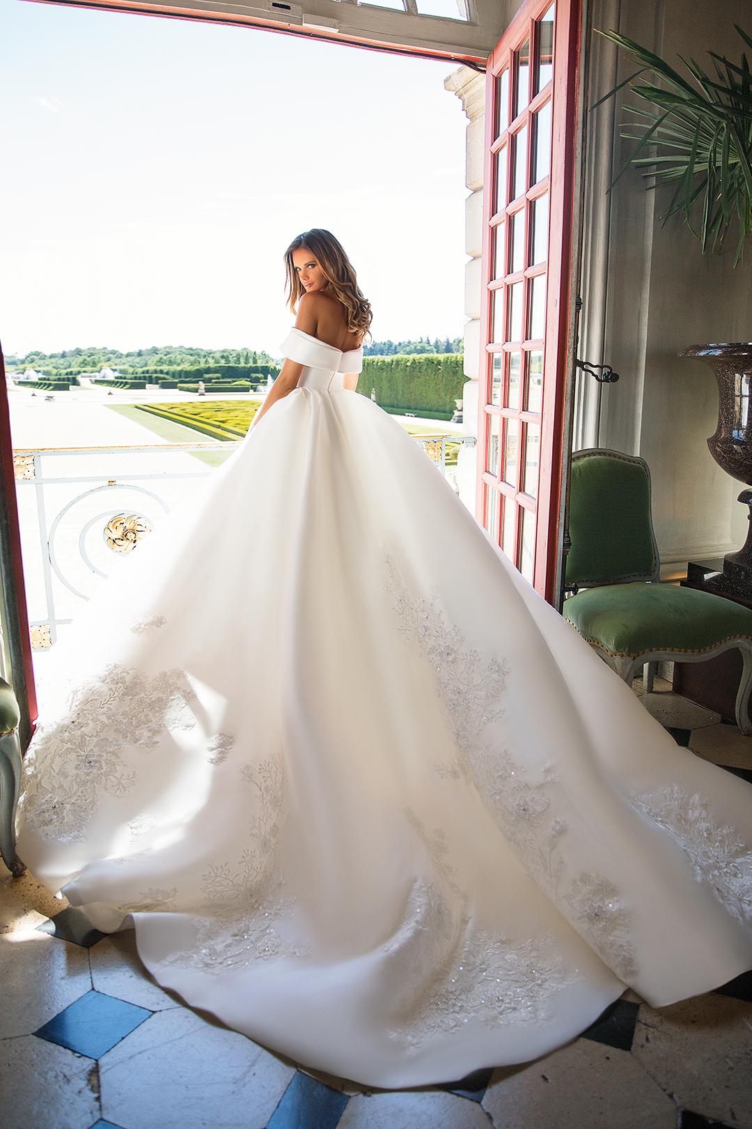 Millanova virginia abiti da sposa il giardino della sposa - Il giardino della sposa ...