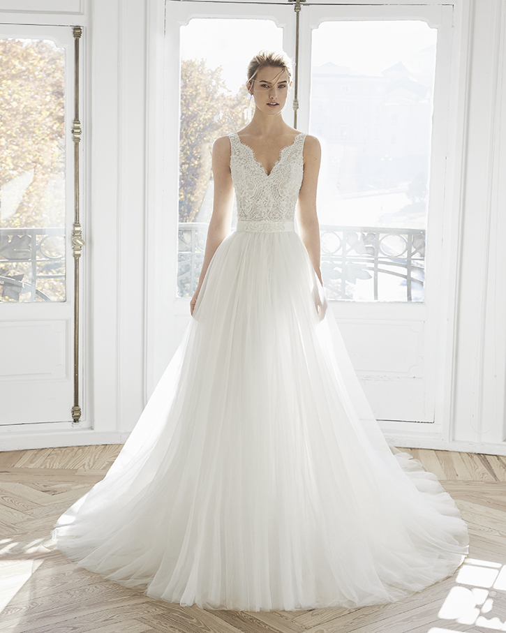 dfa79fac25f3 Gonna Staccabile Abito Da Sposa Due In Uno