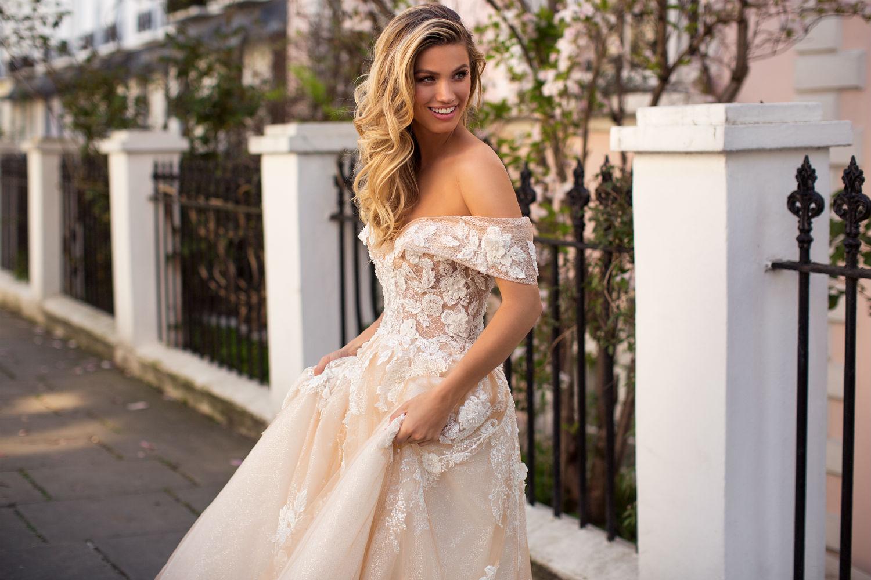 Abito da sposa modello principsceo il giardino della sposa - Il giardino della sposa ...