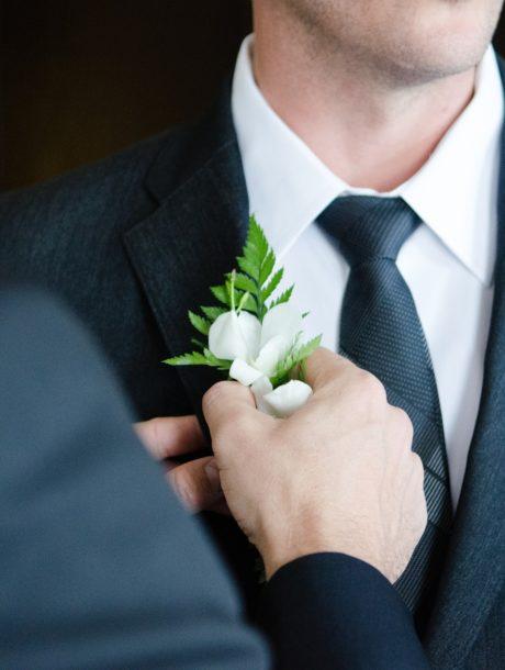 Sposo che si prepara
