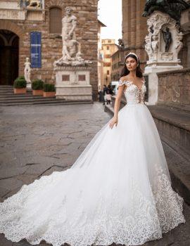 Abiti Da Sposa Ampi.Catalogo Abiti Principeschi Il Giardino Della Sposa